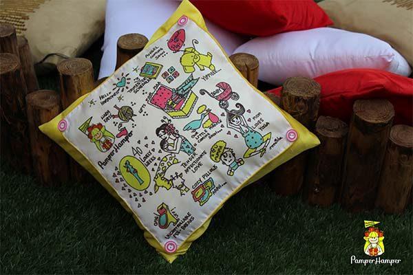 Special Pregnancy Keepsake Cushion